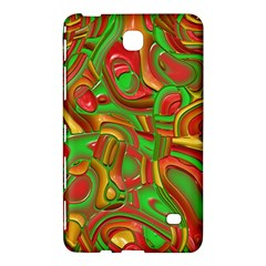 Art Deco Red Green Samsung Galaxy Tab 4 (7 ) Hardshell Case