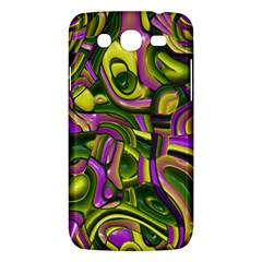 Art Deco Yellow Green Samsung Galaxy Mega 5.8 I9152 Hardshell Case