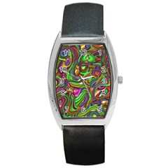 Art Deco Barrel Metal Watches