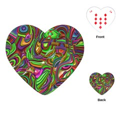 Art Deco Playing Cards (heart)