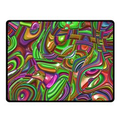 Art Deco Fleece Blanket (small)