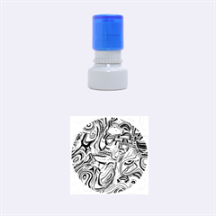 Art Deco Rubber Round Stamps (Small)