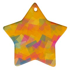 Fading squares Ornament (Star)