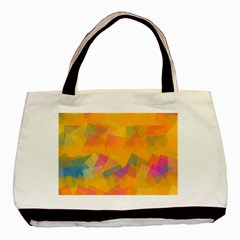 Fading Squares Basic Tote Bag (two Sides)