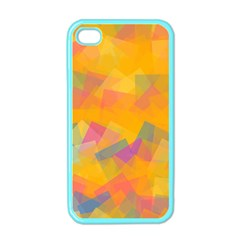 Fading squares Apple iPhone 4 Case (Color)