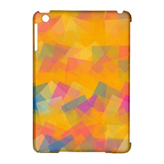 Fading squares Apple iPad Mini Hardshell Case (Compatible with Smart Cover)
