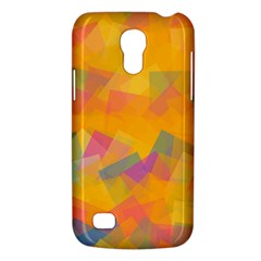 Fading squares Samsung Galaxy S4 Mini (GT-I9190) Hardshell Case