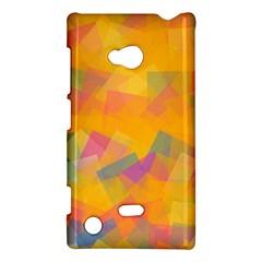Fading squares Nokia Lumia 720 Hardshell Case