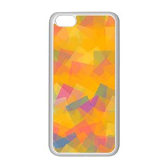 Fading squares Apple iPhone 5C Seamless Case (White)