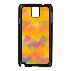 Fading Squares Samsung Galaxy Note 3 N9005 Case (black)
