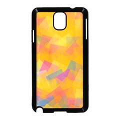 Fading squares Samsung Galaxy Note 3 Neo Hardshell Case