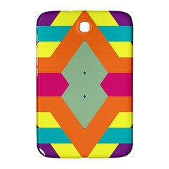 Colorful rhombus and stripes Samsung Galaxy Note 8.0 N5100 Hardshell Case