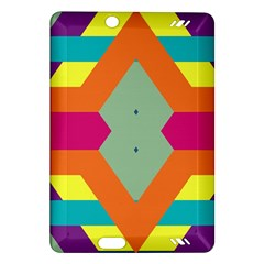 Colorful Rhombus And Stripes Kindle Fire Hd (2013) Hardshell Case