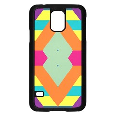 Colorful rhombus and stripes	Samsung Galaxy S5 Case