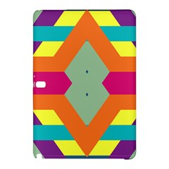 Colorful Rhombus And Stripessamsung Galaxy Tab Pro 10 1 Hardshell Case