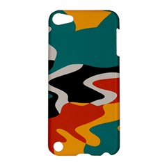 Misc shapes in retro colors Apple iPod Touch 5 Hardshell Case
