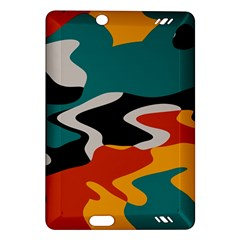 Misc shapes in retro colors Kindle Fire HD (2013) Hardshell Case