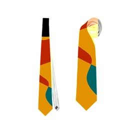Misc shapes in retro colors Necktie
