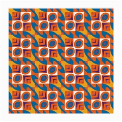 Squares and other shapes pattern Medium Glasses Cloth
