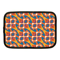 Squares and other shapes pattern Netbook Case (Medium)