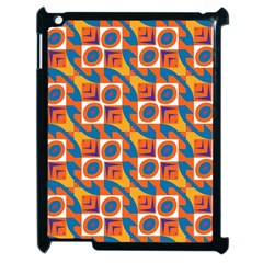 Squares and other shapes pattern Apple iPad 2 Case (Black)