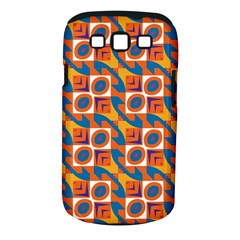 Squares and other shapes pattern Samsung Galaxy S III Classic Hardshell Case (PC+Silicone)