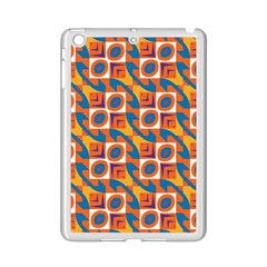 Squares and other shapes pattern Apple iPad Mini 2 Case (White)