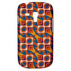 Squares and other shapes pattern Samsung Galaxy S3 MINI I8190 Hardshell Case