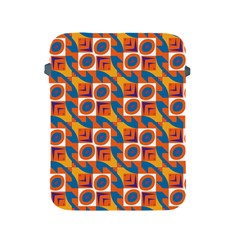 Squares and other shapes pattern Apple iPad 2/3/4 Protective Soft Case