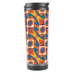 Squares and other shapes pattern Travel Tumbler