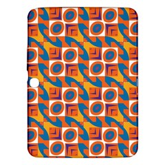 Squares and other shapes pattern Samsung Galaxy Tab 3 (10.1 ) P5200 Hardshell Case