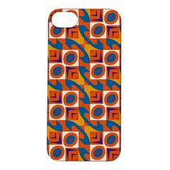 Squares and other shapes pattern Apple iPhone 5S Hardshell Case