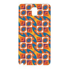 Squares and other shapes pattern Samsung Galaxy Note 3 N9005 Hardshell Back Case