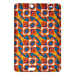 Squares and other shapes pattern Kindle Fire HD (2013) Hardshell Case