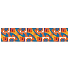 Squares and other shapes pattern Flano Scarf