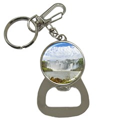 Waterfalls Landscape At Iguazu Park Bottle Opener Key Chains