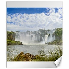 Waterfalls Landscape At Iguazu Park Canvas 8  x 10