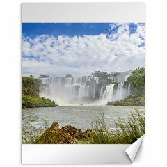 Waterfalls Landscape At Iguazu Park Canvas 18  x 24