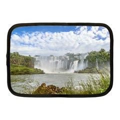Waterfalls Landscape At Iguazu Park Netbook Case (Medium)