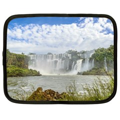 Waterfalls Landscape At Iguazu Park Netbook Case (XXL)