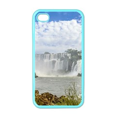 Waterfalls Landscape At Iguazu Park Apple iPhone 4 Case (Color)