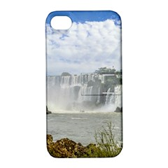Waterfalls Landscape At Iguazu Park Apple iPhone 4/4S Hardshell Case with Stand