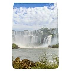 Waterfalls Landscape At Iguazu Park Flap Covers (S)