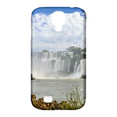 Waterfalls Landscape At Iguazu Park Samsung Galaxy S4 Classic Hardshell Case (PC+Silicone)
