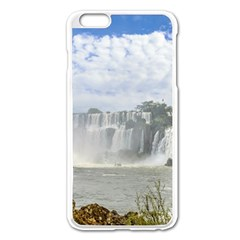 Waterfalls Landscape At Iguazu Park Apple iPhone 6 Plus/6S Plus Enamel White Case