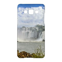 Waterfalls Landscape At Iguazu Park Samsung Galaxy A5 Hardshell Case