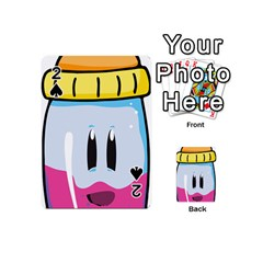 Purp Baby Bottle Playing Cards 54 (mini)