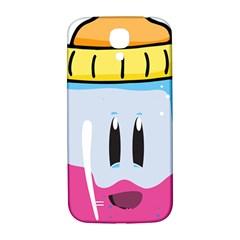 Purp Baby Bottle Samsung Galaxy S4 I9500/I9505  Hardshell Back Case