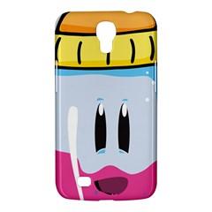 Purp Baby Bottle Samsung Galaxy Mega 6.3  I9200 Hardshell Case