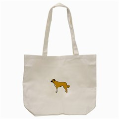 Anatolian Shepherd color silhouette Tote Bag (Cream)